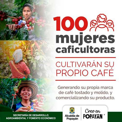 Empoderamiento de 100 mujeres caficultoras, como estrategias de reactivación económica del sector rural