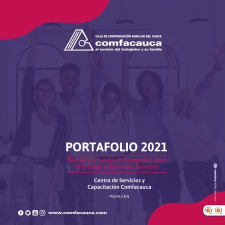 Portafolio Capacitación Comfacauca 2021