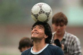 Se nos murió Diego Maradona