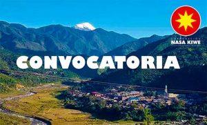 Convocatoria de la Corporación Nasa Kiwe y Alcaldía de Páez para proceso de reasentamiento y reubicación