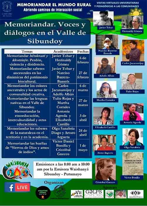 Semillero y grupo de investigación de Unicauca visitan el Valle de Sibundoy (Putumayo)