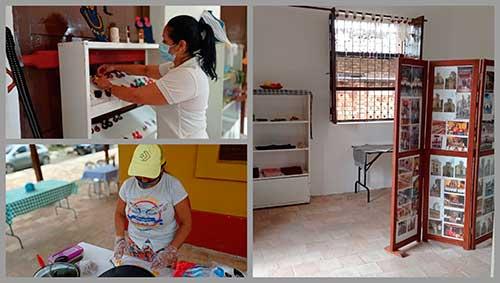 Muestra artesanal y gastronómica en la casona de Yanaconas