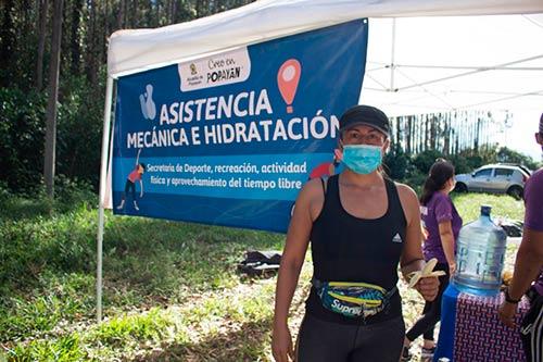 Alcaldía de Popayán acompaña y cuida a deportistas en La Torre y San Bernardino