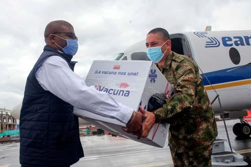 Vacunas contra Covid-19 ya están en el Cauca