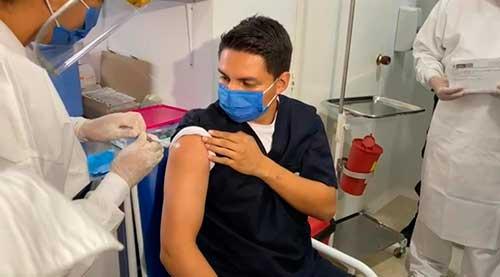 Cauca da inicio al Plan de Vacunación con las primeras 666 dosis aplicadas en un 100%
