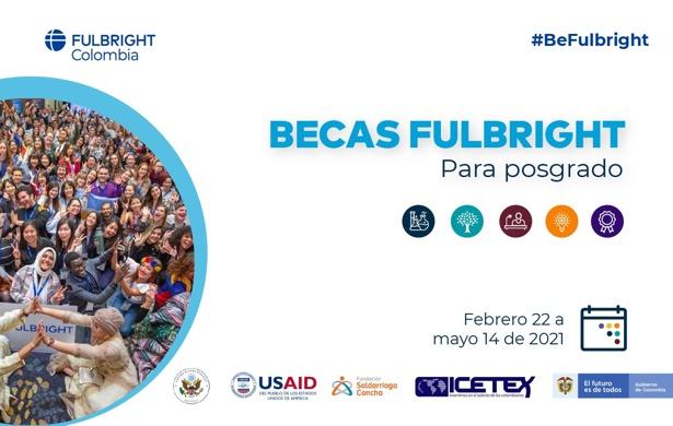 Abierta convocatoria 2021 de Becas Fulbright para Posgrado en EEUU