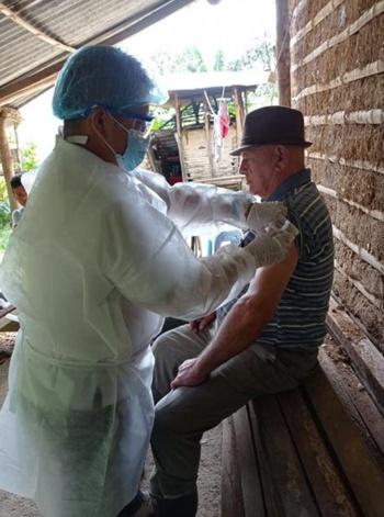 Así avanza la vacunación en el municipio de Argelia