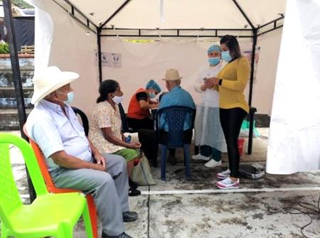 Así avanza la vacunación en el municipio de Sucre