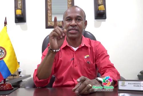 Dagoberto Domínguez Caicedo - Alcalde Municipal de Puerto Tejada - Cauca