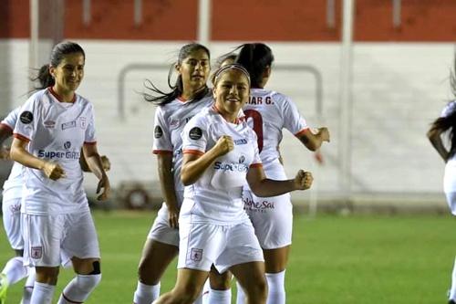 Con doblete de futbolista quilichagueña el América de Cali goleó en Copa Libertadores Femenina.