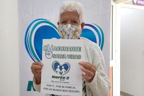 ESE Norte 2 también inició vacunación contra el Covid 19