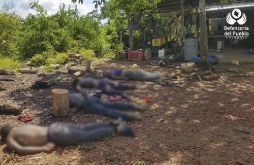 El Cauca y sus alrededores, una carnicería humana