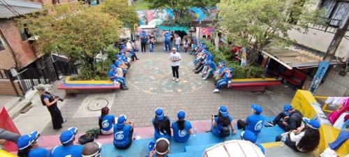 Encuentro de intercambio de experiencias con líderes se realizó en Medellín