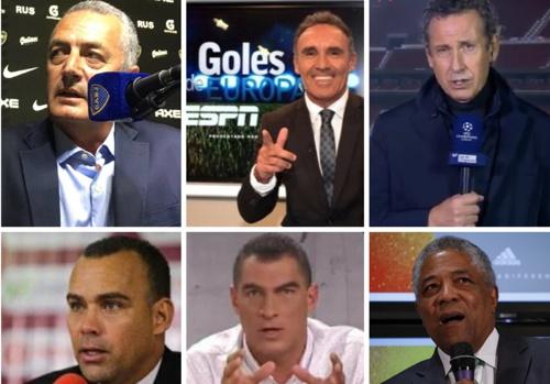 Futbolistas y micrófonos - Esteban Jaramillo Osorio