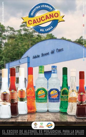 Industria Licorera del Cauca - Aguardiente Caucano