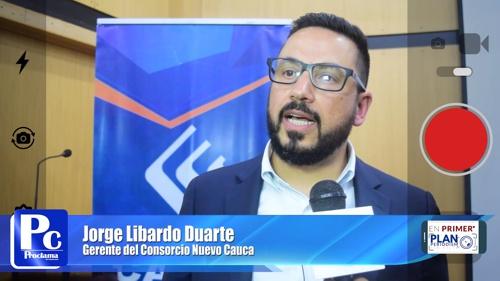 Jorge Libardo Duarte - Gerente del Consorcio Nuevo Cauca