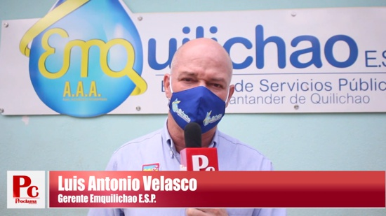 Luis Antonio Velasco Valke - Gerente Emquilichao