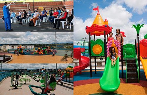 Diversión y entretenimiento en el nuevo Centro Recreativo Guayacanes Comfacauca