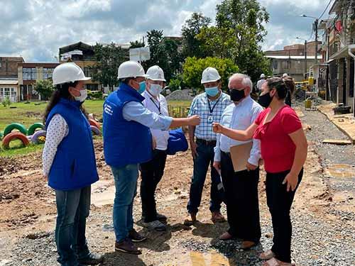 Intervención en las redes de acueducto y alcantarillado de Popayán
