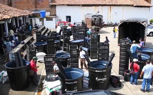 Seguridad alimentaria para indígenas y campesinos en Quilichao