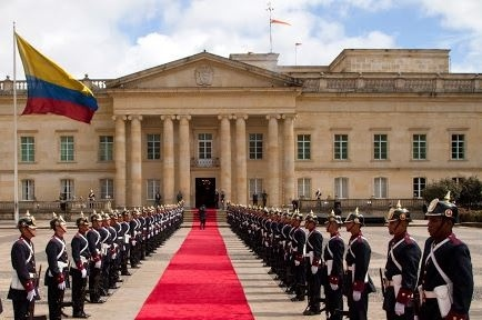 Un patiano presidente de Colombia - Casa de Nariño