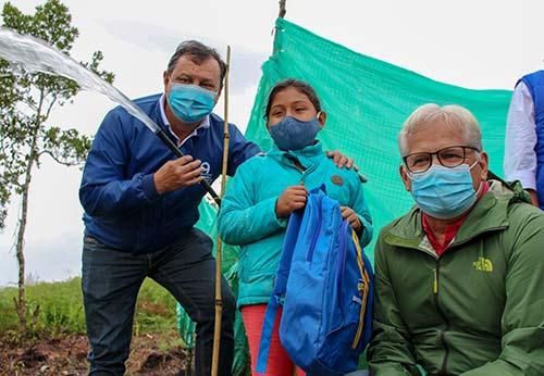 247 familias ya cuenta con agua potable en Popayán