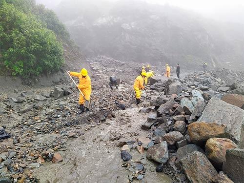 Gobernación del Cauca entregó informe preliminar por temporada de lluvias