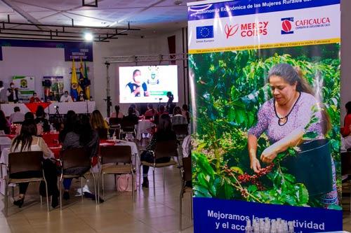 Mujeres del Cauca tendrán autonomía económica a través del café