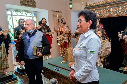 La Gobernación del Cauca a través de la Coordinación de Cultura de la Secretaría de Educación, apoya la exposición de pasos organizada por la Junta Procesional del Lunes Santo de Popayán