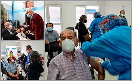 Con éxito avanza la vacunación contra el COVID-19 para adultos mayores en Popayán