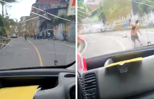 Atacan ambulancia de misión médica en Cali