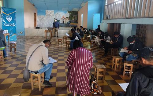 Cámara en tu Municipio desde Jambaló, Cauca