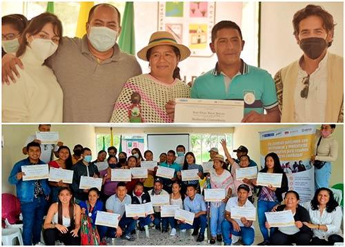 Certificados mediadores comunitarios para la construcción de paz