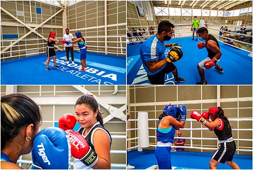Con nuevo ring de boxeo la Secretaría del Deporte continúa 'pegando fuerte'