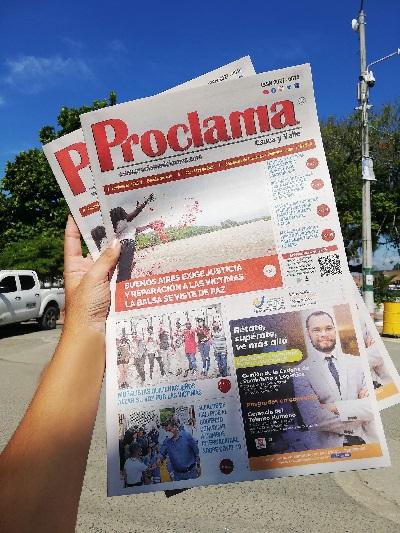 En circulación Edición Impresa #433 de Proclama Cauca y Valle