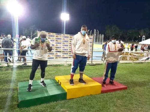 Gerson Ramírez otra medalla de Plata en Lanzamiento de Disco
