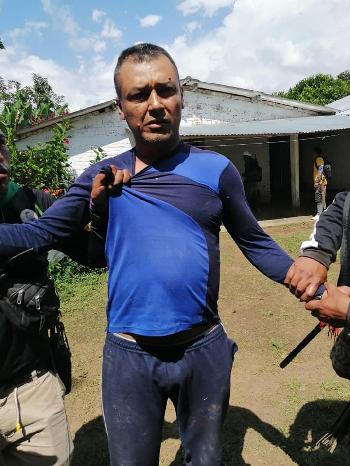 Cinco personas fueron detenidas por la Guardia Indígena