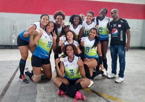 Huracanes Voleibol Club de Puerto Tejada, campeón en el Torneo Ciudad de Palmira.