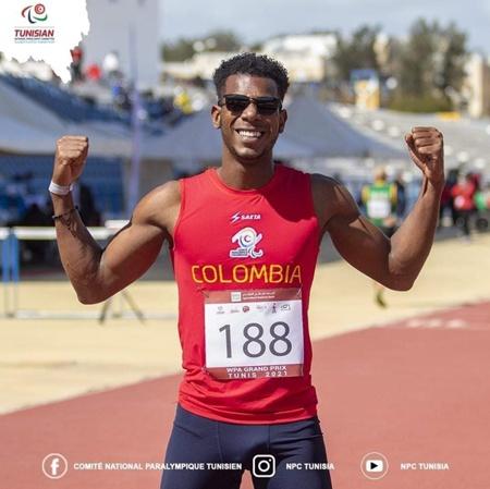 Jean Carlos Mina Aponzá a la final de los 100 metros en Campeonato Nacional de Mayores