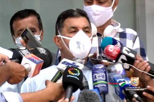 Jorge Iván Ospina - Alcalde de Cali - Alerta Roja Hospitalaria
