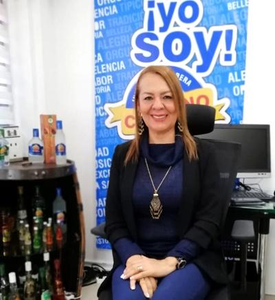 Julieta Ortíz Guerrero, gerente de la Industria Licorera del Cauca.