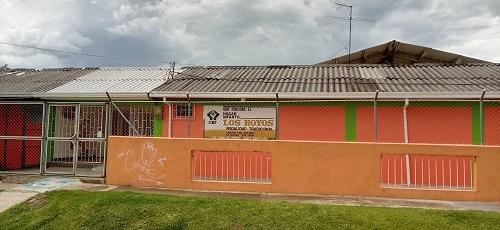 Municipio tras posesión del estadio Ciro López - Hogar Infantil Los Hoyos
