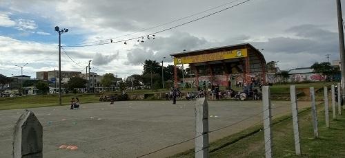 Parque de la Salud Popayán