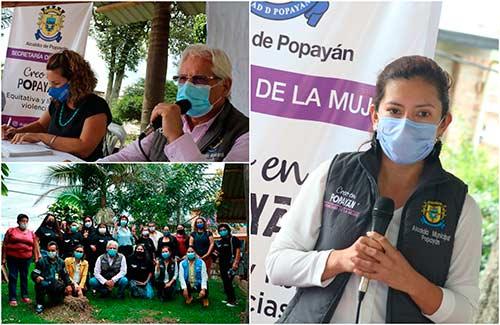 Popayán avanza en la prevención de todas las formas de violencia contra las mujeres
