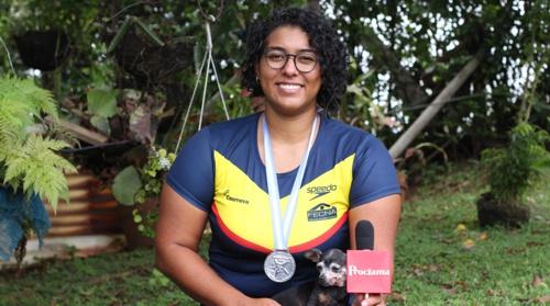 Ángela Viviana Samboní es una deportista oriunda del municipio de Santander de Quilichao