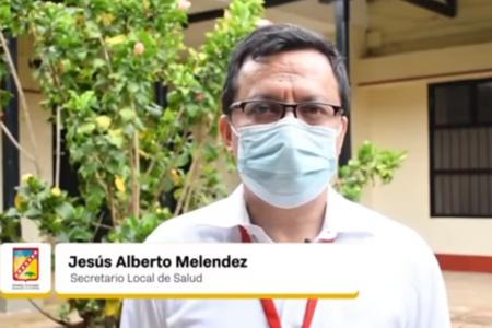 Santander de Quilichao sin vacunas para combatir el Covid 19 - Jesús Alberto Meléndez, secretario de Salud