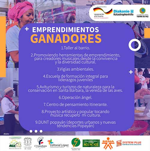 Unicauca apoya iniciativas de orden social que lidera Fundación Tierra de Paz