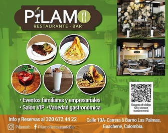 Ya probaste las delicias de Pílamo Restaurante - Bar en Guachené...