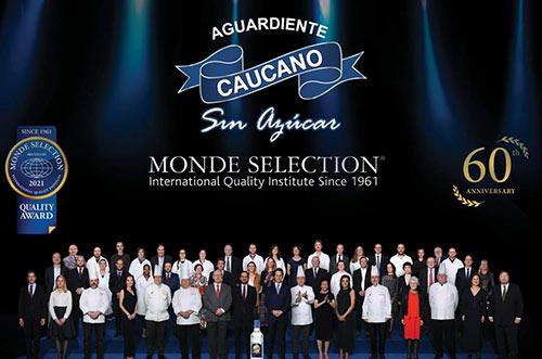 Industria Licorera del Cauca nuevamente premiada en los Monde Selection