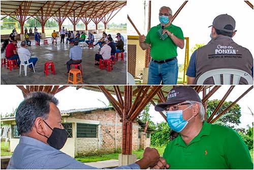 Administración Municipal y líderes de La Rejoya plantean soluciones para este importante sector de la ciudad